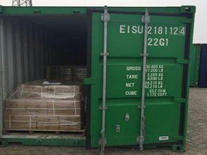 Ceramic ferrule in container