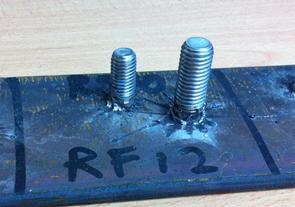 RF ceramic ferrule for welding